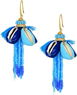 Rebecca Minkoff - Lola Seed Bead Tassel Earrings
