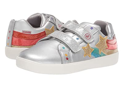 Stride Rite M2P Meadow (Little Kid) (Silver) Girls Shoes