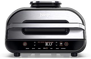 Ninja Foodi MAX Health Grill and Air Fryer [AG551UK], 3.8 L, Grey/Silver