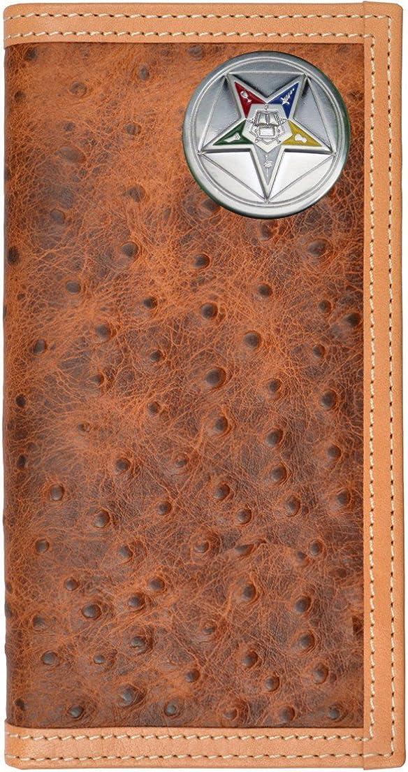 Custom Eastern Star Masonic Long Print Sales results No. Popular overseas 1 Checkbook Ostrich Leather