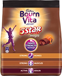 Bournvita Five Star Magic Chocolate Drink Pouch - 500 g
