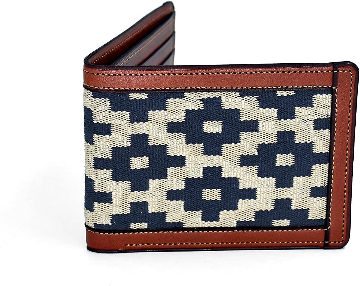 GauchoLife Guarda Pampas Leather Bi-Fold Wallet (Cross/Tan)