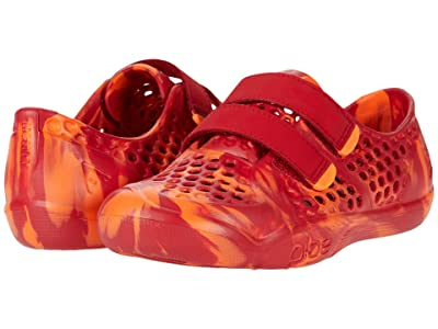 PLAE Mimo (Toddler/Little Kid) (Passionate Orange) Kids Shoes