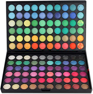 Pure Vie® Professional 120 Colors EyeShadow Palette Makeup Contouring Kit #1 - Perfect for Professional as well as Personal Use