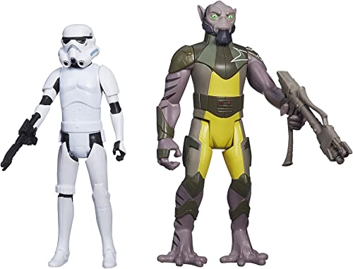 Star Wars Rebels – Mission Series – Garazeb  Zeb  Orrelios & Stormtrooper – Figurines 9 cm
