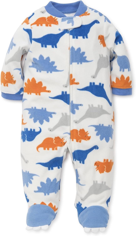 Amazon.com: Little Me Baby Boys' Blanket Sleepers: Clothing