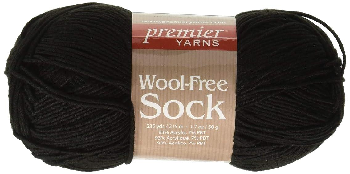 Premier Yarns Black Wool-Free Sock Yarn