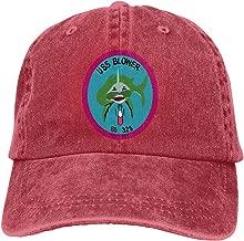 Sendyniu5 USS Blower (SS-325) Denim Hats Cowboy Hats Dad Hat