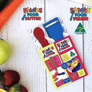Kiddies Food Kutter & Safety Food Peeler - Twin Pack (2)