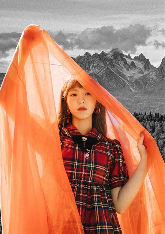 5d DIY Diamond Painting red k-pop Poster Velvet Music Mo Sacramento Limited time sale Mall