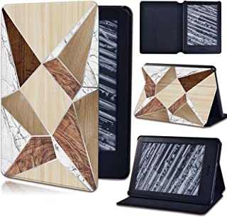 for Amazon Kindle 8/10 Paperwhite 1 2 3 4 - Pu Leather Stand Tablet Cover Case for Kindle Creative Geometric Pattern Shock...
