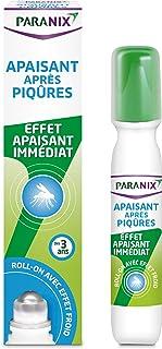 Paranix Roll-on Apaisant Après-Piqûres – Effet Rafraîchissant dès l'Application – Roll-On de 15ml