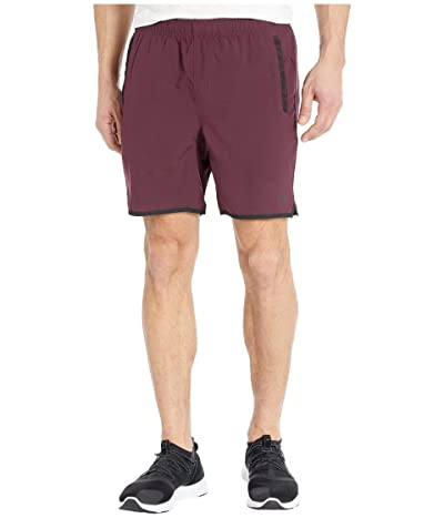RVCA Yogger IV Shorts (Plum) Men