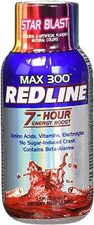 VPX Redline Power Rush 7-Hour Energy Max 300 Supplement, Star Blast, 2.5 Ounce (Pack of 12)