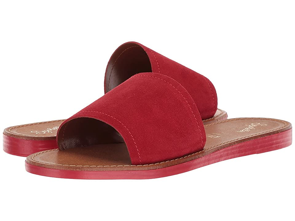 Seychelles Leisure (Red Suede) Women