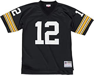 Mitchell & Ness Terry Bradshaw Black Pittsburgh Steelers Throwback Jersey