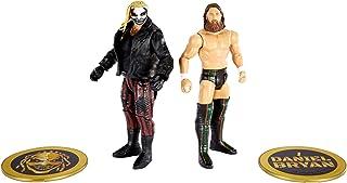 WWE coffret Duel de Champions, figurines articulées de catch Bray Wyatt & Daniel Bryan en tenue de combat, jouet pour enfa...