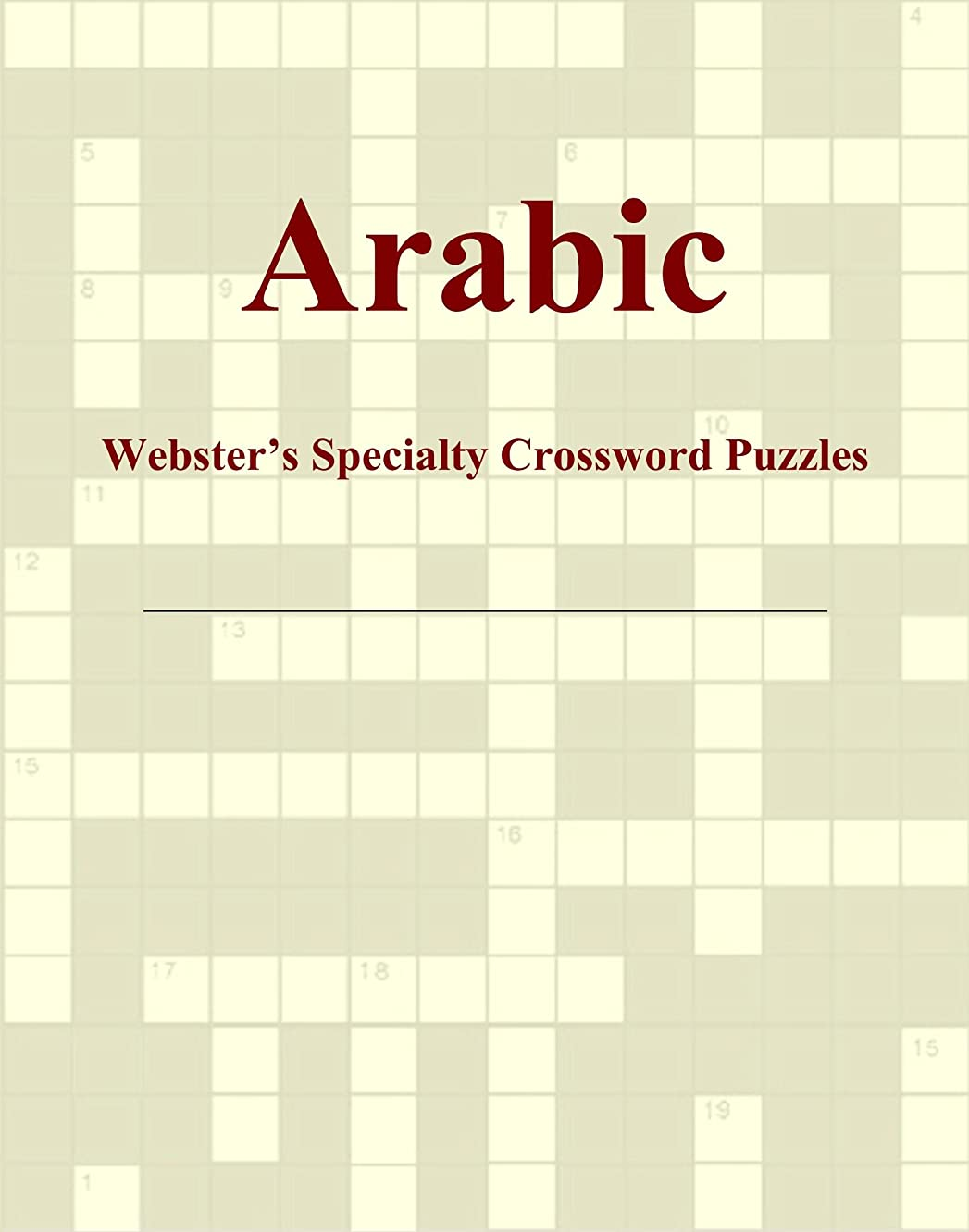 Arabic - Webster's Specialty Crossword Puzzles
