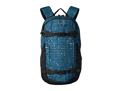 Burton Dayhiker 25L (Blue Sapphire Ripstop Texture Print) Day Pack Bags