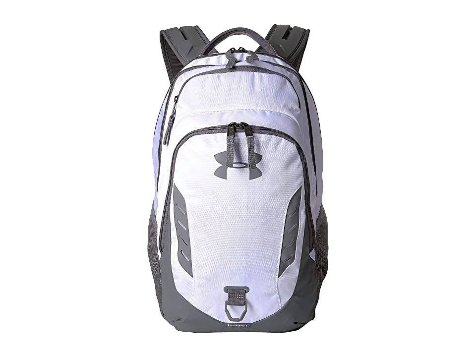 Under Armour Gameday Backpack (White/Graphite) Backpack Bags