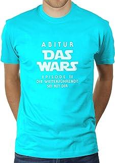 KaterLikoli - Camiseta para hombre, diseño de El Episodio III con texto en alemán