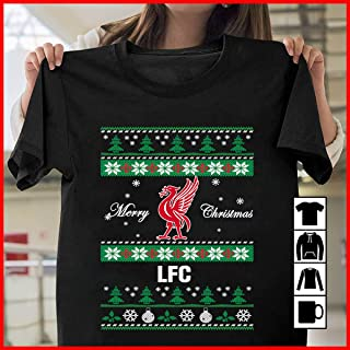 liverpool ugly christmas sweater