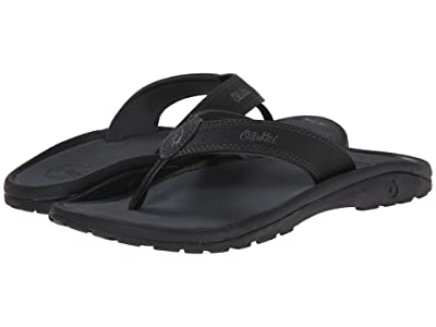 OluKai Ohana (Black/Dark Shadow) Men