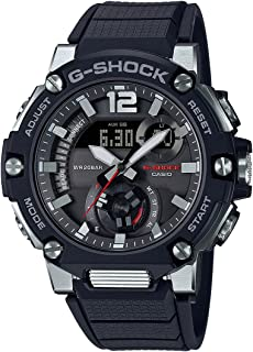 CASIO G-Shock Resin Band Analog Digital Watch for Men - Black