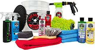 Chemical Guys HOL148 16-Piece Arsenal Builder Wash Kit with Torq Blaster Foam Gun, Bucket..