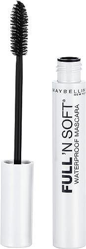 Maybelline Full n Soft Masara Waterproof - Very Black,0.28 fl. oz