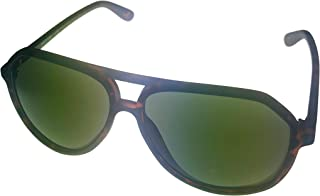 7d4822e591 Kenneth Cole Reaction Mens Matt Tortoise Plastic Aviator Sunglass KC1316 52N