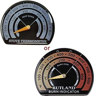 YUZI - Termometro magnetico per stufa a legna con sonda per barbecue