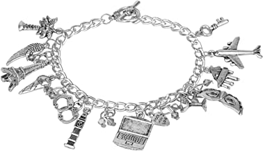 Accessorisingg 50 Shades of Grey Multiple Charm Bracelet [BR085]