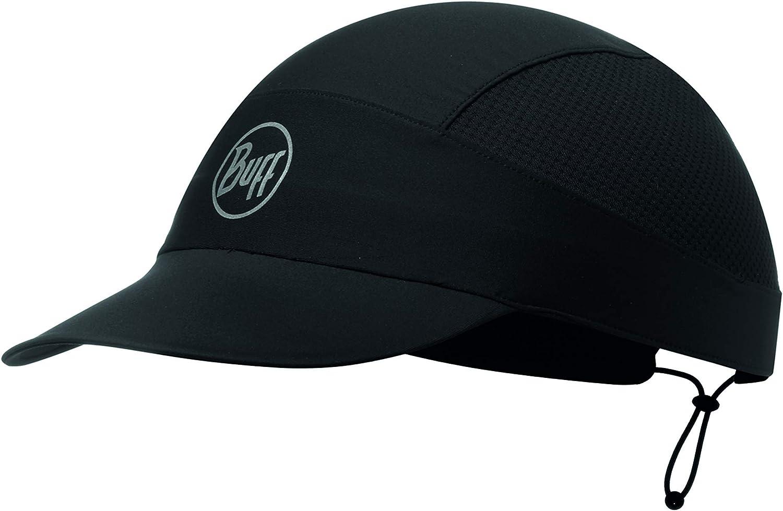 Buff Unisex Microfiber Reversible Hat Cap Black Sports Running Outdoors
