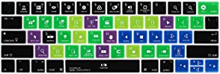 MMDW Shortcuts Hotkey Keyboard Cover Compatible MacBook Pro 13 15 inch 2018 2017 & 2016 with Touch Bar & Touch ID Model:A1...