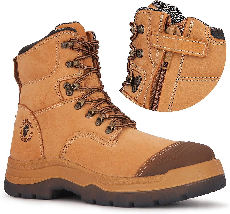 ROCKROOSTER 最新 Kimberly Kensington Zipper お得なキャンペーンを実施中 Work Men inc for 7 Boots