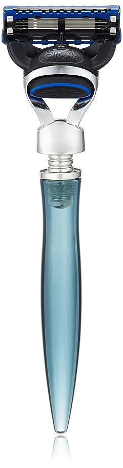 酸素七時半暗いイーシェーブ レーザー ニッケル 5枚刃 ブルー