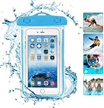 HUMBLE Pool Party Universal Underwater Waterproof Pouch Bag Pack Case for Mobile Phone Screen Size Upto 5.5 Inches