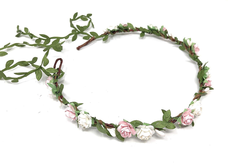 Burgundy navy gold flower Deep red Eucalyptus floral headband Bridal hair wreath Wedding flower halo Maternity crown Bridesmaid crown