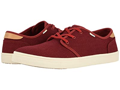 TOMS Carlo (Red Ochre Heritage Canvas (Vegan)) Men