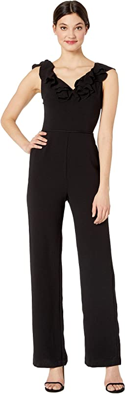 Anderson Ruffle Neck Jumpsuit