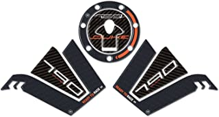 Kit 3Pegatinas Gel 3D Protector Compatible para Depósito de Moto KTM 790Duke