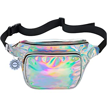 Wolf Moon Face Sport Waist Pack Fanny Pack Adjustable For Run