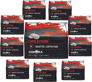 Gimoka Coffee 180 Senseo Cápsulas de Cafe Compatible (