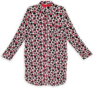 ديزني ميني ماوس قميص نوم طويل الأكمام للنساء