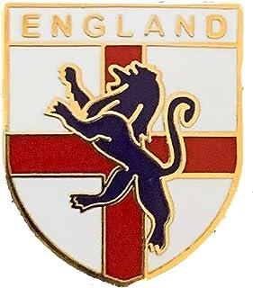 Emblems-gifts Inghilterra Leone Shield Qualità Distintivo Spilla Smaltata T1114