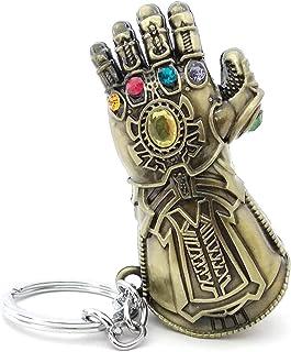 [f0vers] Thanos(サノス) ガントレット グーロブ キーホルダー キーチェーン キーリング コスプレ道具 Thanos(サノス) Glove Colored キーチェーン グーロブ アメコミ「マーベル、アベンジャーズ」コスプレ道具 Thanos キーホルダー キーチェーン キーホルダー インフィニティ ガントレット アベンジャーズ 女性 男性 3D フィギュア キーチェーン キーリング 学園祭り