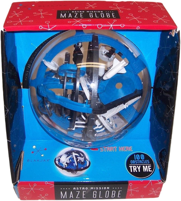 Astro Mission Maze Globe By Blakjax W 100 Obstacles by BLAKJAX (English Manual)