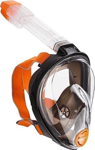 popular Ocean outlet sale Reef Aria Full Face wholesale Snorkel Mask (Black, Medium/Large) outlet sale