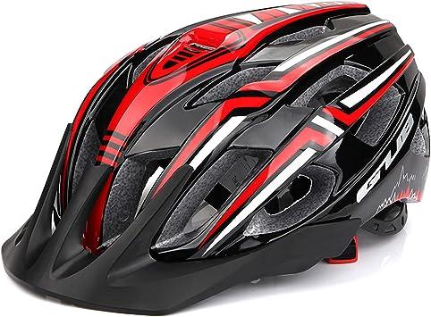 Eastdall Capacete de bicicleta com USB recarregável LED Lightweight Mountain Road Bike Capacete de ciclismo Capacete de para esporte ao ar livre 19 aberturas : Amazon.com.br: Esporte
